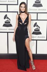 Alessandra Ambrosio attends The 58th GRAMMY Awards at Staples Center on February 15, 2016 in Los Angeles. Picture: Getty