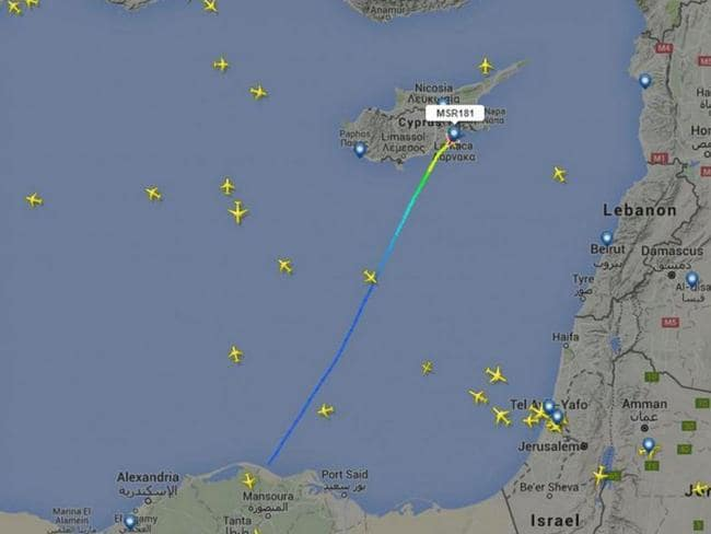 One aviation expert said the flight patterns looked normal except for the fact 'it was hijacked'.