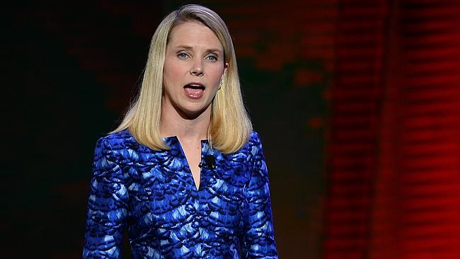 Yahoo! CEO Marissa Mayer snapped up Tumblr, posed for Vogue and banned working from home as CEO. Picture: AFP