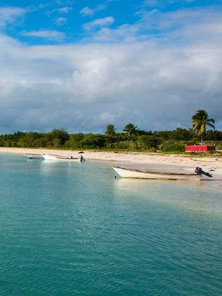 Barbuda before. Picture: Alamy