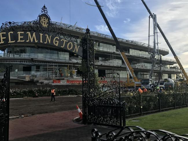 Flemington Mounting Yard Extension Aimed At Improving