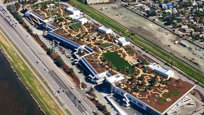 facebook has built a seriously amazing new headquarters in california menlo park office