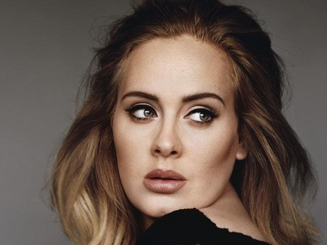 Adele's signature look is 'cat-eye' eyeliner. Stunning every time.