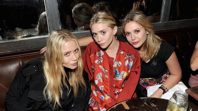 Picking favourites ... Elizabeth Olsen, right, says her sister Ashely, (left) is her favourite twin. Bad luck Mary-Kate.