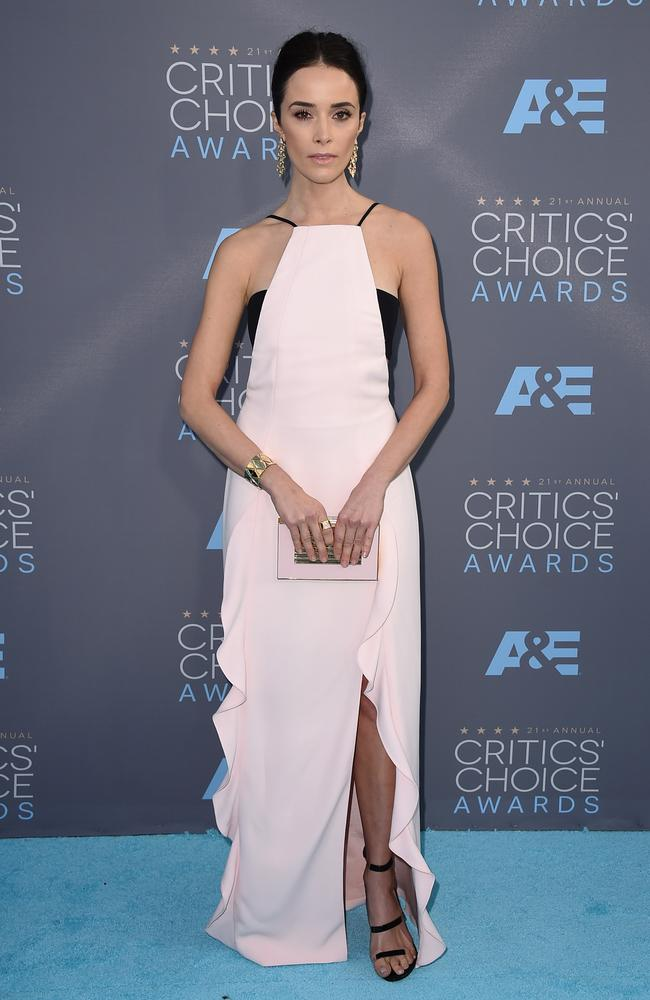 Abigail Spencer attends the 21st Annual Critics' Choice Awards on January 17, 2016 in California. Picture: AP