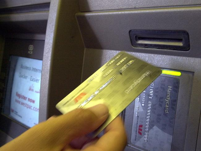 Start forward thinking ... Customers can avoid high ATM fees if they carry cash and plan ahead.
