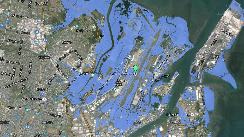 Climate Change NSW VIC And QLD Suburbs That Will Be Affected By - Water rising map