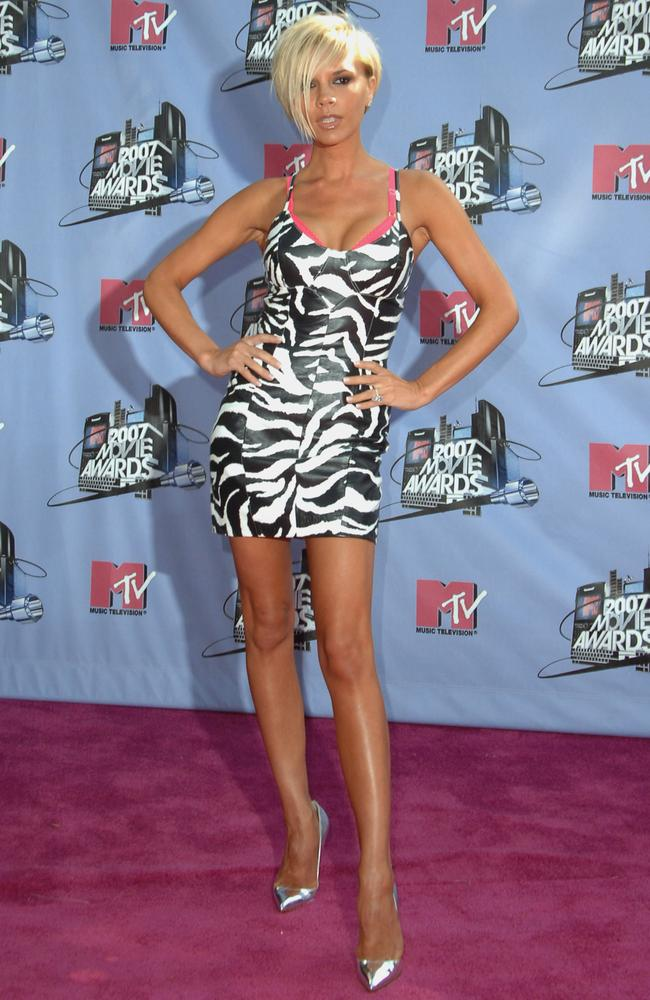 Victoria walks the carpet at the 2007 MTV Movie Awards in Los Angeles.