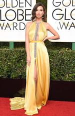 Emily Ratajkowski attends the 74th Annual Golden Globe Awards at The Beverly Hilton Hotel on January 8, 2017 in Beverly Hills, California. Picture: AFP