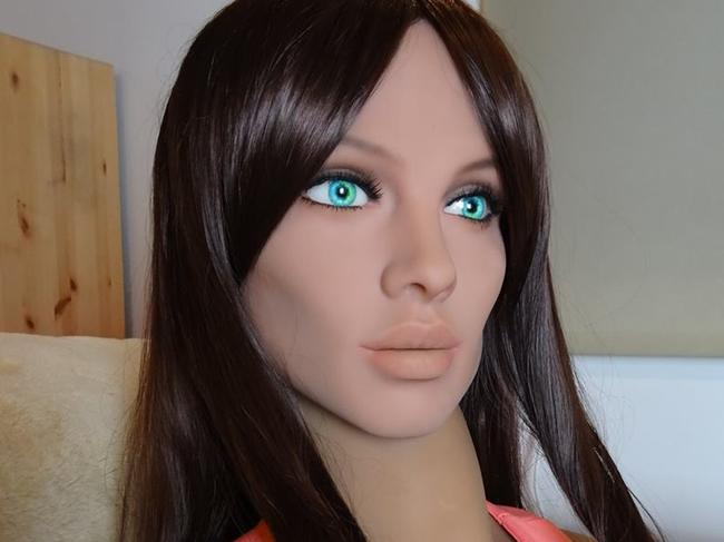 Sex doll creator says people will marry the robots in 20 years. Picture: Synthea Amatus/Facebook