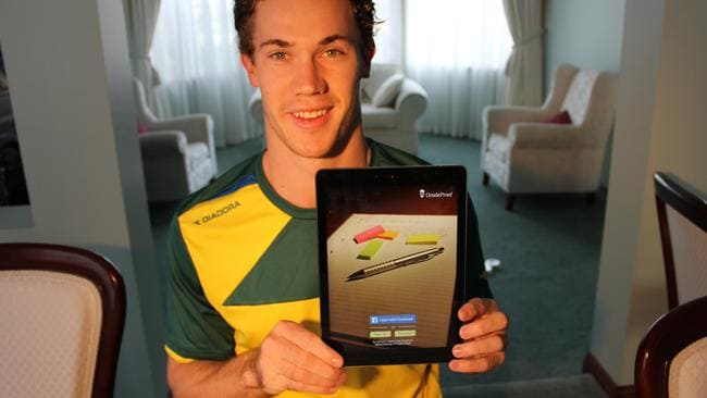 Olympian Nick Hough is the creator of education app GradeProof.