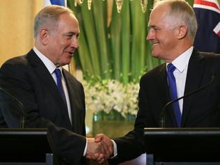 Benjamin Netanyahu Visit