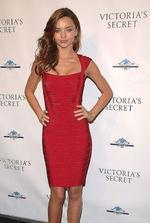 <p>Model Miranda Kerr attends the celebration for the grand opening of Victoria's Secret new Lexington Avenue store in New York on Dec. 2, 2008. AP Photo</p>