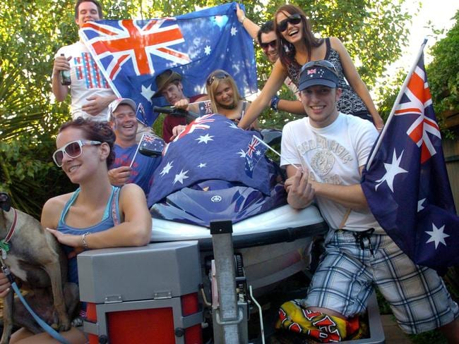It's become popular to hold Hottest 100 parties on Australia Day.