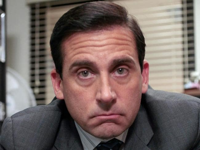 Steve Carrell's character in The Office, Michael Scott, was known for scapegoating colleagues to distract from his own poor work ethic.