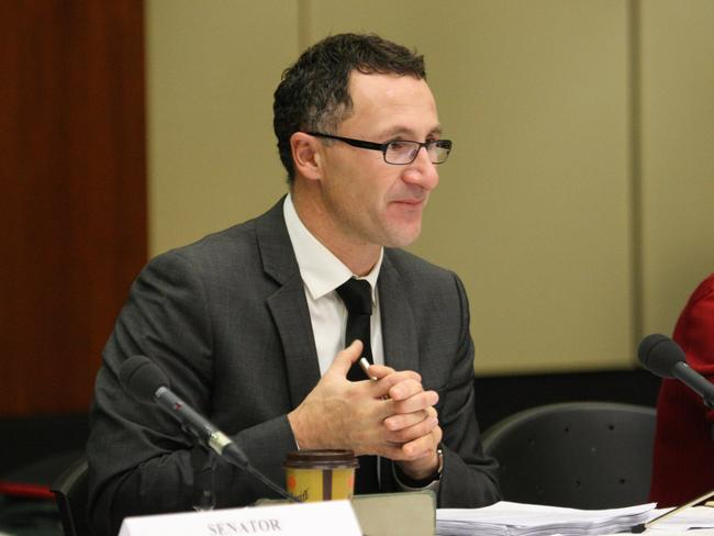 Don't take out private health insurance ... Senator Richard Di Natale. Photo: Philip Norrish
