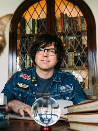 Ryan Adams played Margaret Court Arena last month. Picture: Supplied.