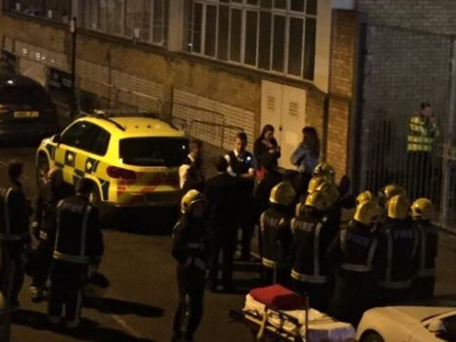 At least 12 revellers suffered burns after a man hurled acid across a nightclub in London.