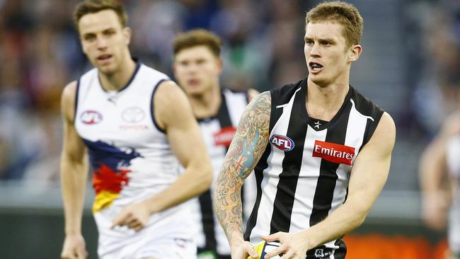 Dayne Beams was excellent in Collingwood's loss. Picture: Michael Klein