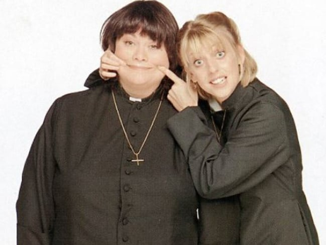The actress had wonderful chemistry with co-star Dawn French.