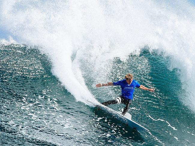 Reigning world tour leader John John Florence is yet to win at Bells Beach.