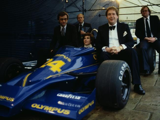 Divina Galica drove for the once-great Hesketh team in 1978.
