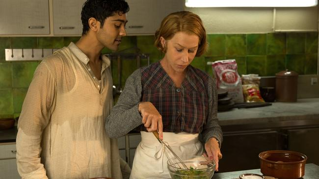A scene from The Hundred-Foot Journey, starrin Helen Mirren and Om Puri. Picture: DreamWorks II Distribution Co.