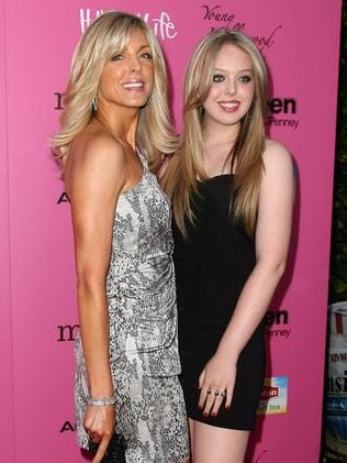 Maria Maples and Tiffany Trump in 2010.