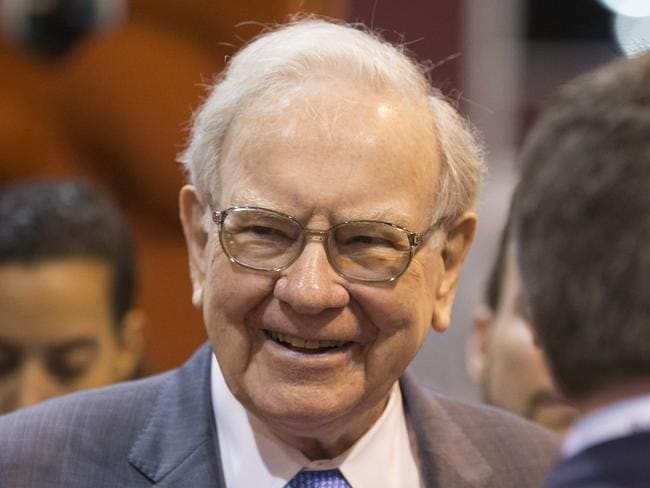 US businessman ... Berkshire Hathaway Chairman and CEO Warren Buffett. Picture: AP Photo/Nati Harnik