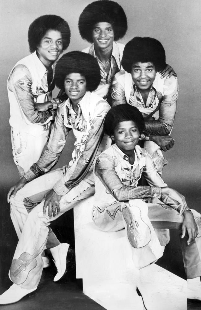 The Jackson Five soon became very popular.