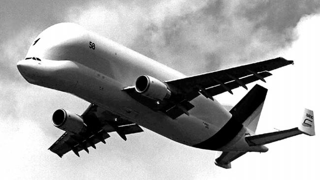 The huge aircraft is nicknamed after the beluga whale.