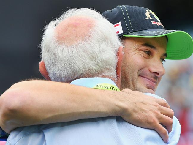 It was an emotional debut for Michael Klinger.