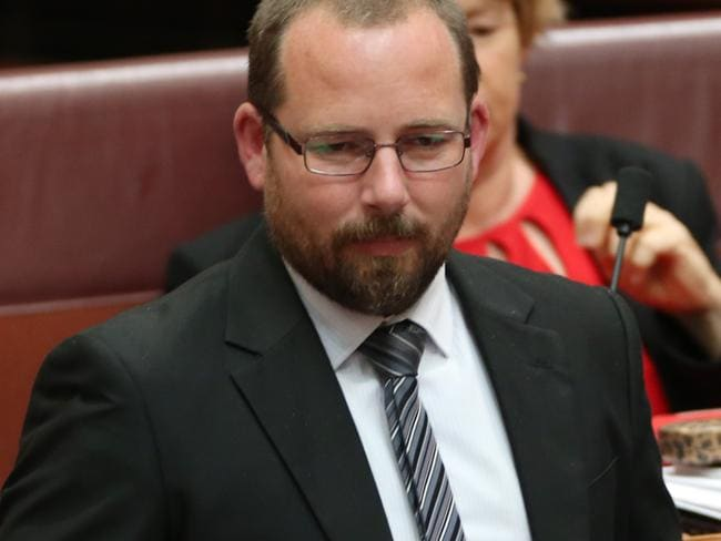 Senate cross bencher Ricky Muir said he was spending as much time as possible with his family in preparation for a possible sudden election campaign.