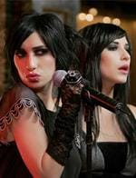 <p>Pop Twins the The Veronicas Jess (L) and Lisa (R) Origlasso, film a new video clip in the Marble Bar at the Hilton Hotel in Sydney. Pic. Adam Ward</p>