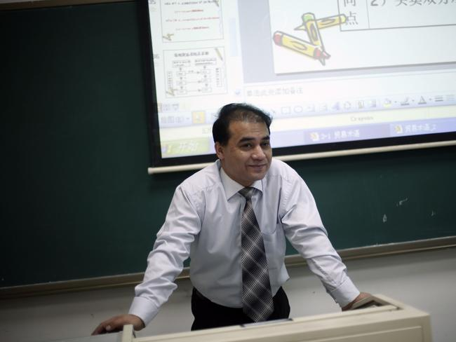 In detention ... prosecutors in Xinjiang have brought charges of separatism against prominent Uighur academic Ilham Tohti, attracting condemnation from human rights groups. Picture: Elizabeth Dalziel