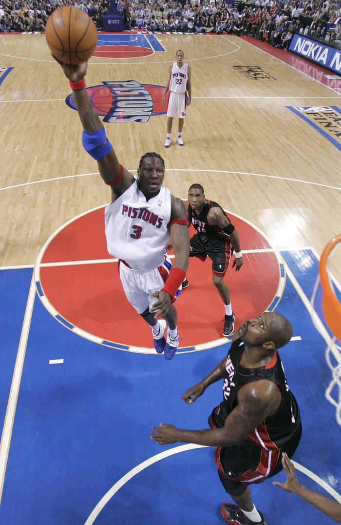 NBA: Detroit Pistons retire Ben Wallace's jersey | Fox Sports