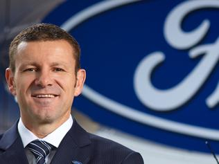 Photo of Ford Australia president Graeme Whickman, taken on his appointment in March 2015.