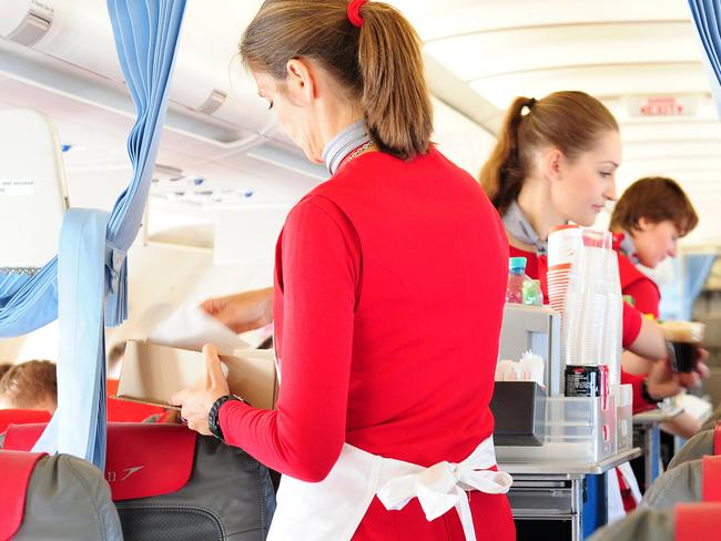 One thing never to ask a flight attendant