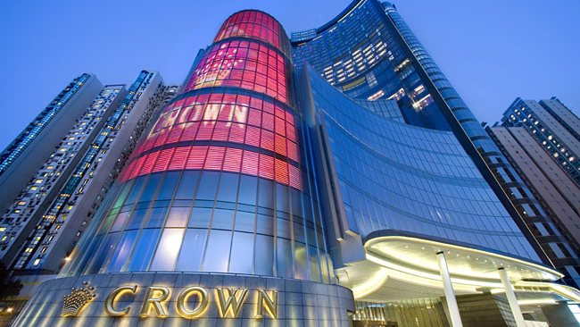 Crown casino macau marketing sea view hotel and casino