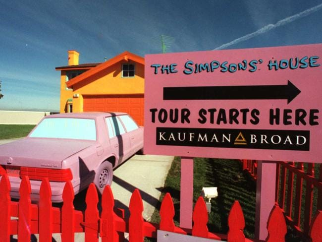 Simpsons house in real life to be built russian hires for 742 evergreen terrace real life