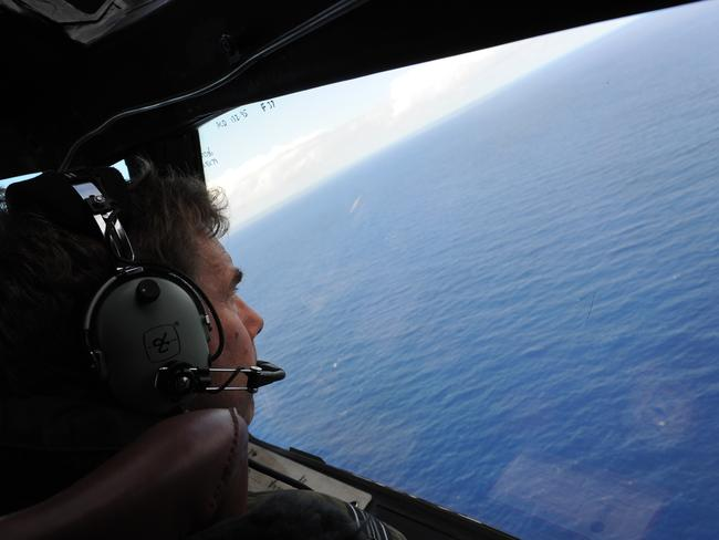 The search for MH370 continues. Pic: AFP/Greg Wood