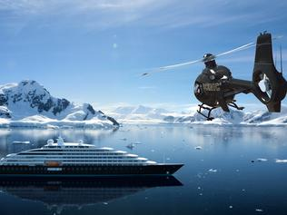 Mega yacht to change cruising