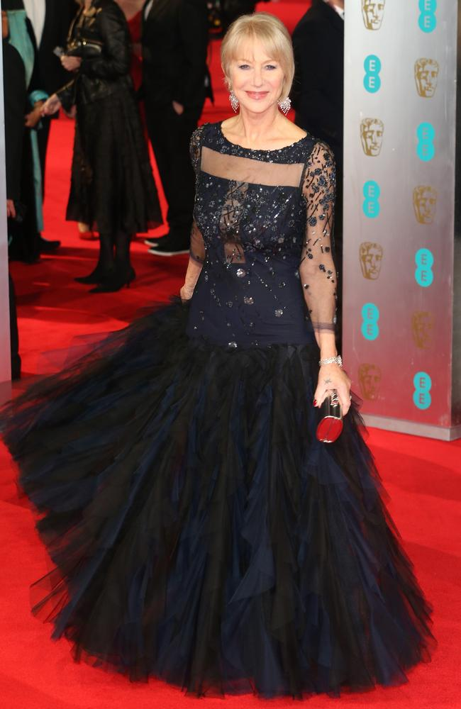 Mirren attends the EE British Academy Film Awards in London in February. Picture: Getty