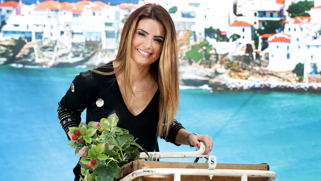 Home and Away star Ada Nicodemou is thrilled to be in Brisbane for the Panyiri Festival. Picture: Mark Calleja