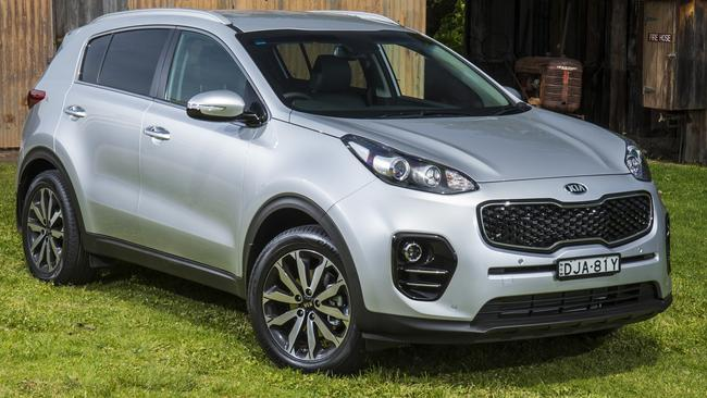 The Kia Sportage has a generous warranty. Picture: Supplied