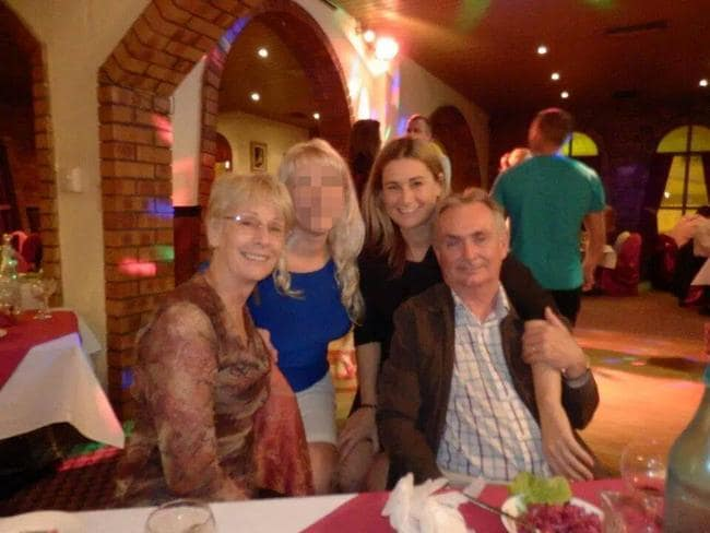 Facebook image of Carol and Michael Clancy, victims of Malaysia Airlines flight MH17 with their daughter Jane Malcolm.