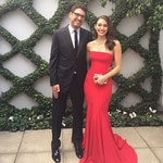 "Emmy Rossum ... ""Could not be prouder!!! @samesmail"" Picture: Instagram"