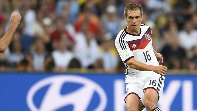 Germany's defender Philipp Lahm is one of football's modern greats.