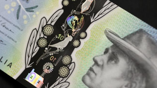 The $10 note is jam-packed with hidden design features.