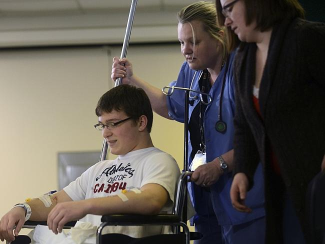Brett Hurt, a sophomore at Franklin Regional High School, is one of the victims injured in the multiple stabbings at the high school on Wednesday, April 9.